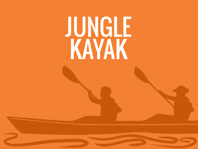 JUNGLE KAYAK